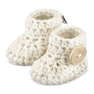 Baby booties 0-3 months - cream - Years